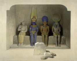 Interior of the Temple of Aboosimbel- Egypt