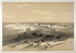 Tyre, from the Isthmus - The Holy Land