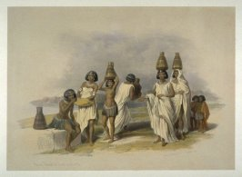 Nubian Women at Kortie - Egypt