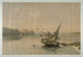 Approach to the Fortress of Ibrim, Nubia - Egypt