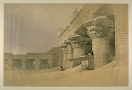 Temple at Edfou (Temple of Horus) - Egypt