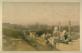 View of Cairo, Looking West- Egypt