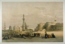 The Entrance to the Citadel of Cairo - Egypt