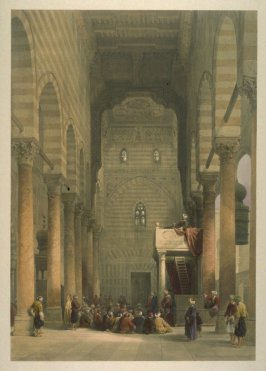Interior of the Mosque of the Metwalys, Cairo - Egypt