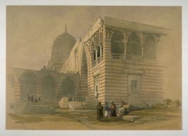 One of the Tombs of the Khalifs, Cairo - Egypt