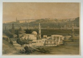 View of Cairo, looking towards the Desert if Inez - Egypt