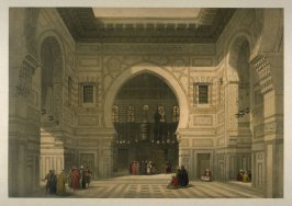 Interior of the Mosque of the Sultan El Ghoree - Egypt