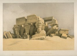 Remains of the Portico of the Temple of Kom Ombo - Egypt