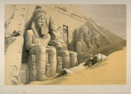 The Great Temple of Aboo Simble - Egypt