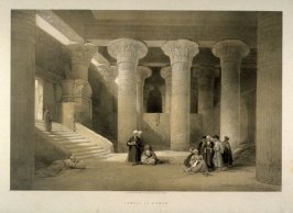 Temple at Esneh - Egypt