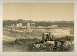 General View of the Island of Philae - Egypt