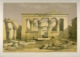 Portico of the Temple of Kalabshi - Egypt