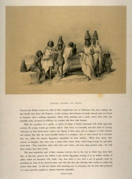 Nubian Women at Korti - Egypt