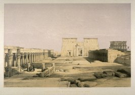 Grand Approach to the Temple of Philae - Egypt