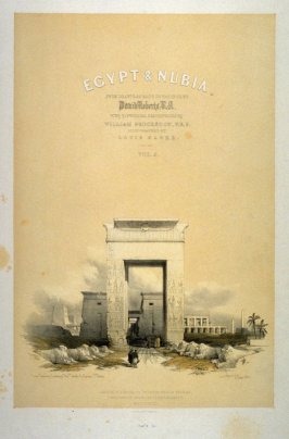 Title page - Egypt Vol.II