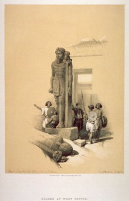 Colossi at Wady Saboua - Egypt