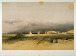 Ruins of the Memnonium, Thebes - Egypt