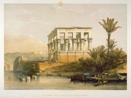 The Hypaethral Temple at Philae, Called the Bed of Pharaoh - Egypt