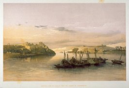 General View of Esouan and the Island of Elephantine - Egypt