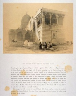 One of the Tombs of the Caliphs, Cairo - Egypt
