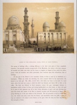 Tombs of the Memlooks, Cairo, With an Arab Funeral - Egypt