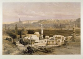 Cairo from the Gate of Citizenib, Looking towards the Desert of Suez - Egypt