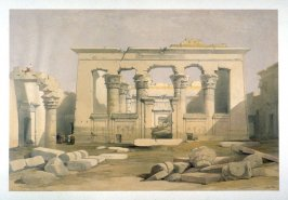 Portico of the Temple of Kalabshe, Nubia - Egypt