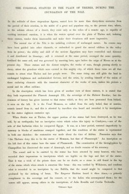 Text page from Egypt Vol.II, 36 -The Temple of Aboo-Simble