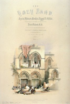 The Holy Land - Title Page to Vol. I