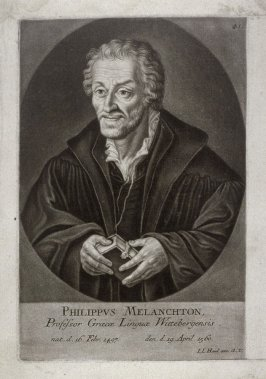 Portrait of Philipp Melanchton