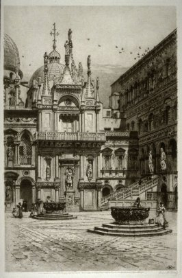 Courtyard, Ducal Palace, Venice