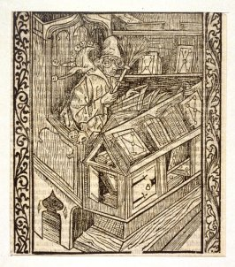 Of Useless Books, from Das Narrenschiff (Ship of Fools), taken from the Latin reprint edition Basel