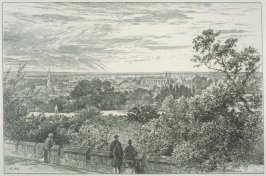 The View from the Terrace, Windsor Castle