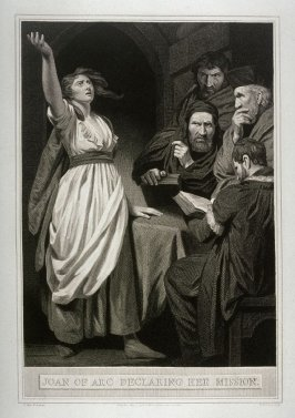 Joan of Arc Declaring Her Mission