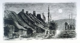 Voudenay-Le-Chateau, opposite page 8 in the book, The Unknown River (Boston: Roberts Brothers, 1872)