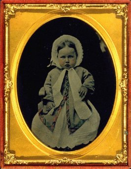 Portrait of Emily Tucker as a baby