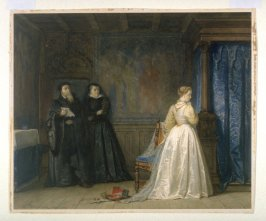 Mary Stuart Leaving France