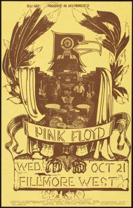 Pink Floyd, April 29, Fillmore West