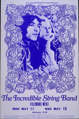 Incredible String Band, May 11 - 13,  Fillmore West