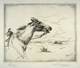 Study (Horse on the Plains)