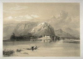 City of Kashmir and Fort of Hurri Purbutt, twenty-fourth plate in the book, Recollections of India … Part I. British India and the Punjab (London: Thomas M'Lean, 1847)