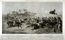 Horse-racing in Dalmatia - from Harper's Weekly,24 February 24, 1877) pp.158-159
