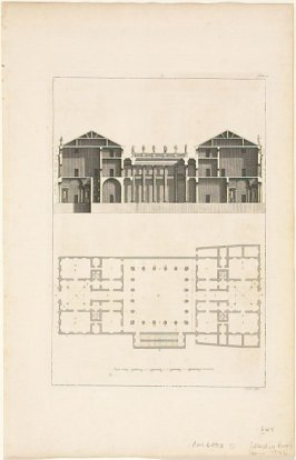 Plate V, from the Book II of the Four Books of Architecture