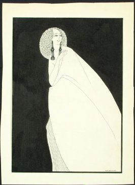 Salome from a series of drawings based on scenes from the play Salome by Oscar Wilde