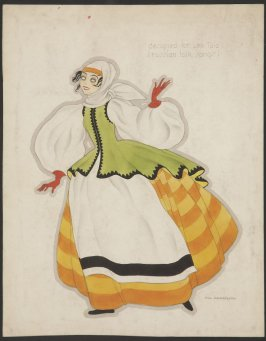 Costume design for Lea Taiz (Russian folk songs)