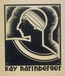 Untitled (Kay in profile)