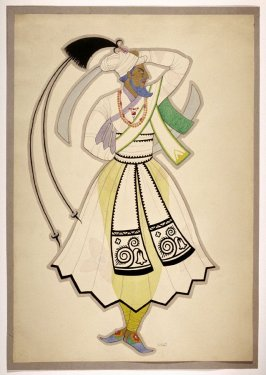 Untitled ( Bluebeard), one of a set of ten costume designs for the ballet, Bluebeard