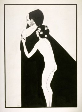 Le jeune syrien et le page d'Hérodias (The Young Syrian and the Page of Herodias), from a series of drawings based on scenes from the play, Salome by Oscar Wilde