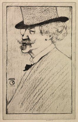 Portrait of James Abbott McNeill Whistler