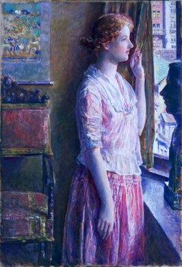 Easter Morning (Portrait at a New York Window)